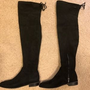 Marc Fisher Humor Over the Knee Boot